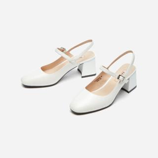 hotwind 热风 女士时尚单鞋 H34W9520 01黑色 35