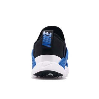 耐克(Nike)儿童鞋 舒适男童休闲鞋 轻便跑步运动鞋 AH7826-010 黑/蓝01Y/32码