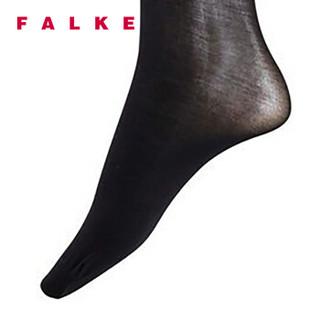FALKE 德国鹰客 Sensual Cotton  30D女士连裤袜打底裤 黑色black S 40085-3009-S