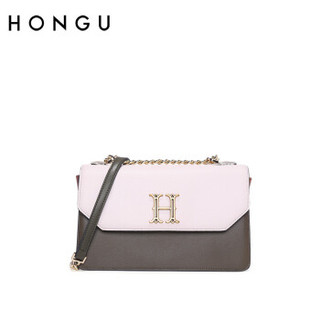 HONGU 红谷 单肩包时尚简约潮流女士单肩包斜挎包 H5151601军绿