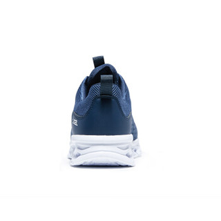 CAMEL 骆驼 运动鞋男女跑步鞋时尚休闲情侣款鞋子透气超轻跑鞋 A912600035 男款蓝色 40