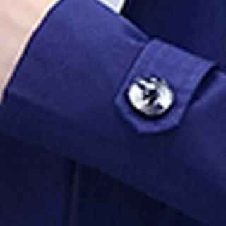 卡帝乐鳄鱼(CARTELO)风衣 男士青年潮流连帽中长款大衣外套B309-JK65藏青色L