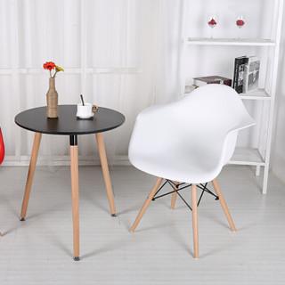 94027 伊姆斯大盆椅 现代简约塑料椅子 北欧餐椅 白色