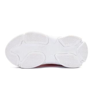 HELLOKITTY 童鞋女童运动鞋 休闲旅游跑步鞋 K8538834白色36