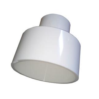 语塑 PVC给水管材管件 异径直接DN200*110 工程款GS1129  5只装 CCJC