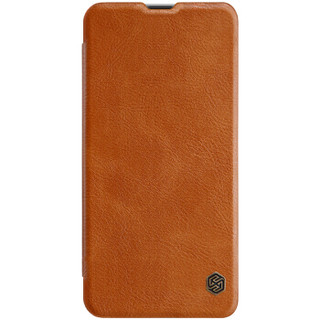耐尔金(NILLKIN)三星A8s手机壳 秦系列手机保护皮套 棕色