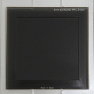 B+W 方形滤镜 100*100 803MRC ND0.9 8x nano减光镜