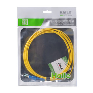 HAILE 海乐HJ-1SC-SC-S8 电信级单芯单模光纤跳线网线(SC-SC,9/125)8米