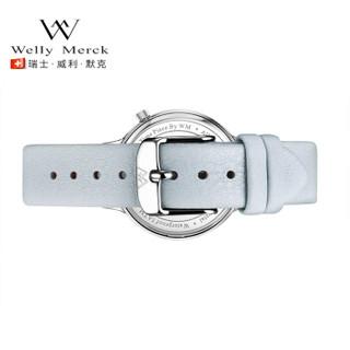 welly merck WM005-SBL-Lg2-30 女士石英手表