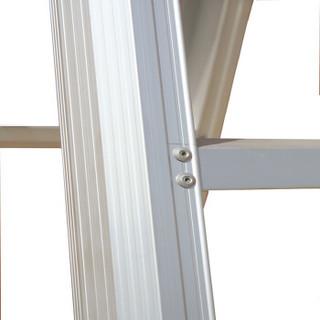 攀云 梯子 家用人字梯折叠铝合金梯子四步铝梯工业梯装修楼梯加厚工程梯 LB-2604B