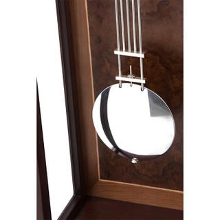 美时嘉(meishijia)落地钟 客厅欧式实木雕花德国原装进口赫姆勒十二音簧机芯音乐报时座钟 5080H