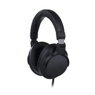 AIX SH-T30 爱秀 头戴式耳机 电脑K歌录音棚耳机 专业耳机  黑色