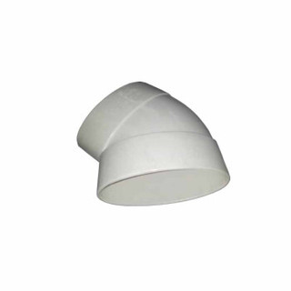 语塑 PVC管材管件 电工管件及线盒 直弯45度DN50 工程款XG1003  40只装CCJC