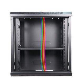 中科之星 ZK.6615网络机柜15U黑色0.77米服务器机柜 壁挂式/机架式交换机/UPS/弱电/屏蔽机柜 功放机柜