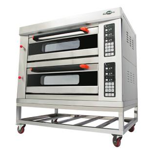 圣托(Shentop)三层六盘商用烤箱 大型烘焙蛋挞 蛋糕面包电烤炉 3层6盘月饼披萨大烘炉 KST-36A