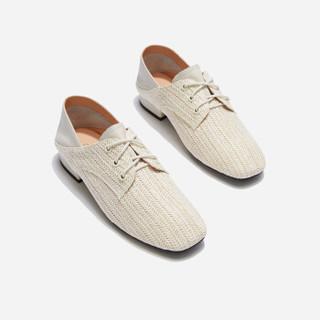 hotwind 热风 女士时尚休闲鞋 H01W9504 03米色 37