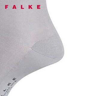 FALKE 德国鹰客 Sensual Silk系列 女士丝袜 中筒袜 泥灰色silver 35-36 46288-3290-35