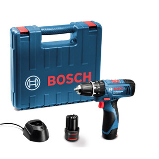 博世(BOSCH)GSB120 充电电钻冲击钻电动螺丝刀 GSB1080-2-LI升级版 双电版标配