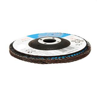 博世(Bosch)实用型千叶片 125mm 60目 煅烧刚玉  百叶轮 实用型千叶砂磨轮 /个