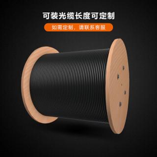 博扬(BOYANG)BY-GYTA53-6B1.3 重铠地埋6芯单模室外光缆 GYTA53层绞式直埋网线光纤线 3000米/轴