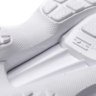 LI-NING 李宁 超轻十五男子一体织减震轻质跑鞋ARBN009-3 白色 42
