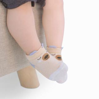 9i9久爱久宝宝袜子5双装婴儿童春夏薄款网眼袜卡通透气1900074
