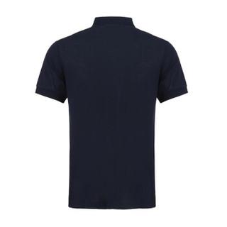 BURBERRY 巴宝莉 男款海军蓝棉质短袖POLO衫 80030251 XS码