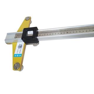 海特测控 HTZJC-2 1400mm铁路支距尺 1.4米支距尺 铁路半道尺 道岔测量尺 道岔支距尺