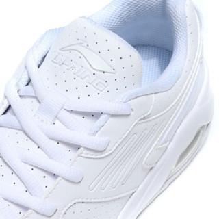 LI-NING 李宁 女 运动时尚鞋 AGCN346-5  标准白 36