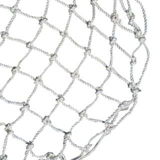 聚远 JUYUAN 70白色尼龙井盖网 井盖防护网 井盖防坠网窨井防护网道路井盖防坠网 700mm SDJN尼龙防护网