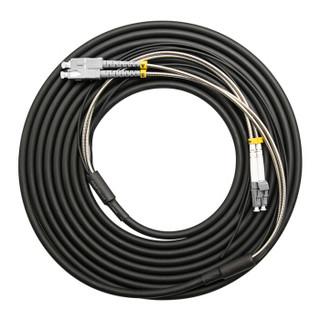 博扬(BOYANG)BY-Y25152M 电信级光纤跳线sc-lc 多模双工 25米 多模双芯7.0基站通信野战拉远室外光纤线