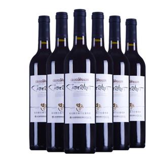 WILON 威龙 新疆冰川 解百纳干红葡萄酒 750ml*6瓶
