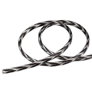 JIB 德国蟒蛇 2*2平方音响线无氧铜纯铜喇叭线 DIY信号线散线功放接低音炮音频线音响线 SP-014BW 50米