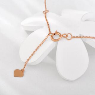 SUNFEEL 赛菲尔 FDP24020RW 菱形蝴蝶结套链 7分 无色钻石