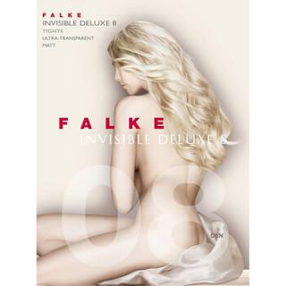 FALKE 德国鹰客 Invisible Deluxe系列 锦纶 8D超薄透明哑光连裤丝袜 cocoon(白肤色) S 40610-4059