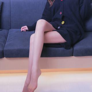 法国皮尔卡丹丝袜女超薄1D任意剪连裤袜哑光 2条装亚洲肤色 均码