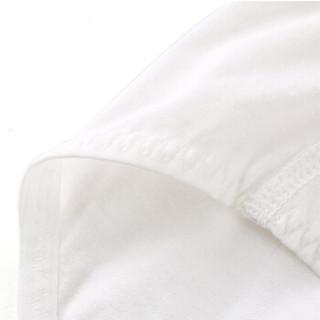 全棉时代 少女针织三角裤165/90 白色+浅黄色 2件/袋