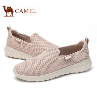 CAMEL 骆驼 时尚休闲套脚户外运动鞋男 A912304570 灰褐色 39