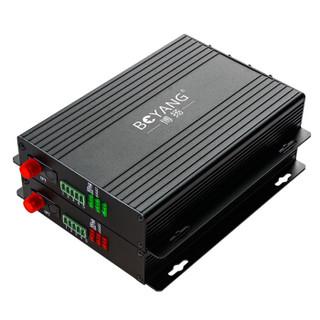 博扬(BOYANG)BY-TVI4V1D-720P 同轴高清视频光端机 4路视频+1路反向数据 FC接口 1对