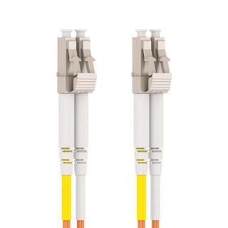 海乐(Haile)电信级光纤跳线网线 双芯多模(LC-LC,50/125) HJ-2LC-LC-MD25 收发器尾纤 25米
