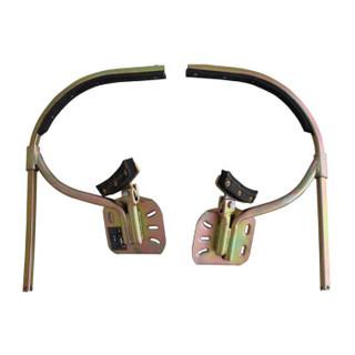 海乐(Haile)电线杆脚扣350型 电工脚扣 爬水泥杆JK-350 10-12米线杆用 直径200-350mm可调
