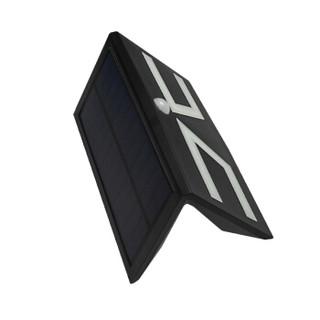 欣辉亿诚 XHF199-5w 太阳能人体感应壁灯 贴片款黑色