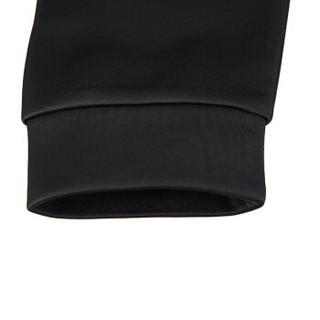 PEAK 匹克 男款连帽抓毛卫衣保暖舒适时尚运动上衣 DF684061 黑色 M码