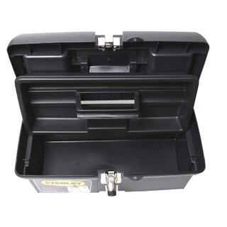 史丹利(STANLEY)新型塑料工具箱16英寸收纳工具94-857-37