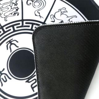 酷米索 (KUMISUO)鼠标垫自营 超大 大号鼠标垫   M1生肖黑色750*350*3MM  加厚锁边游戏垫 办公鼠标垫 凑单