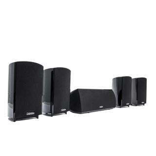 狄分尼提(Definitive Technology)ProCinema 600 音响 音箱 家庭影院5.1卫星箱系统套装 黑色