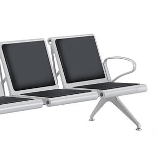富路达 不锈钢机场椅 银行连排椅 车站候车椅公共休闲座椅医院候诊椅W9801-1