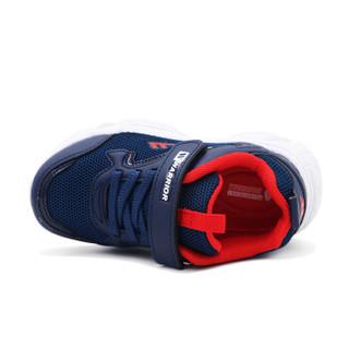 回力(Warrior) 官方旗舰店童鞋男童运动鞋儿童慢跑鞋网面透气跑鞋休闲鞋 WZ-2995 蓝色 33