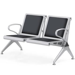 富路达 不锈钢机场椅 银行连排椅 车站候车椅公共休闲座椅医院候诊椅W9801-2