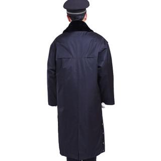 谋福 9527 多功能保安大衣 防寒服 秋冬季加长加厚棉衣物业保安棉服 (加长款175)